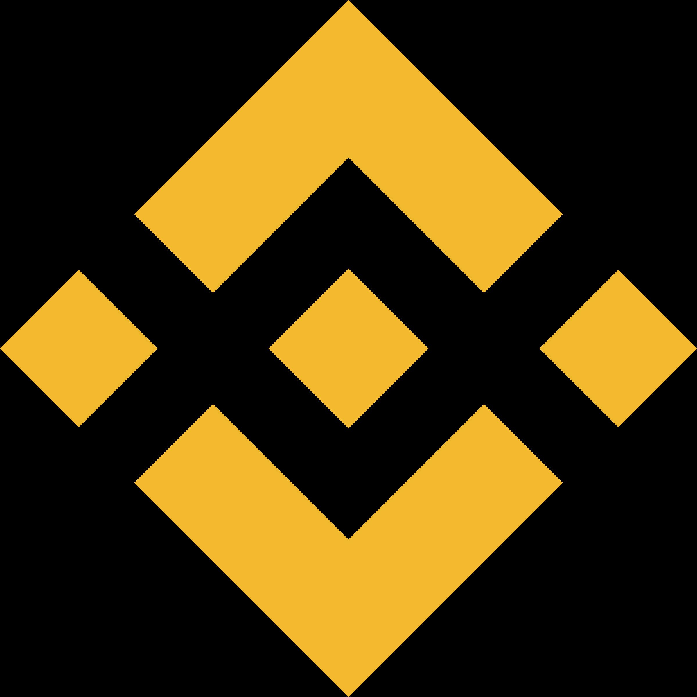 binance coin logo transparent