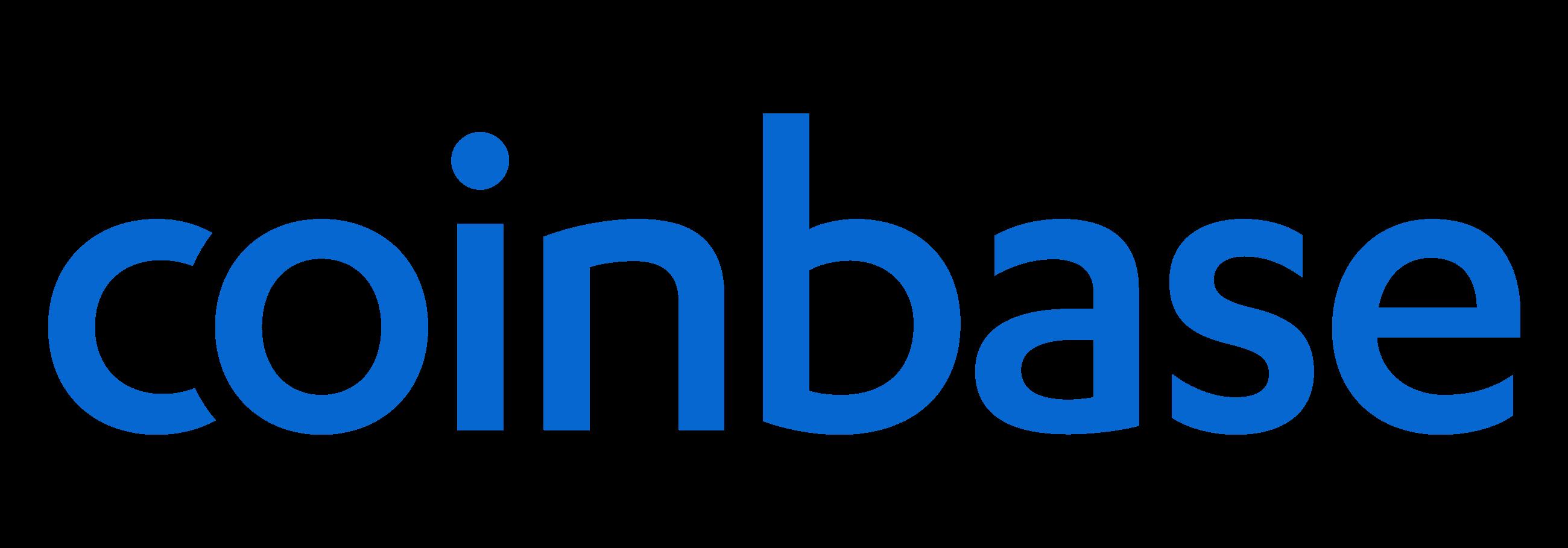 coinbase logo in blue